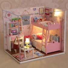 Dollhouse Furniture Kitchen Online Get Cheap Miniature Dollhouse Diy Kit Kitchen Aliexpress