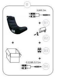 X Rocker Gaming Chair Price X Video Rocker Impact Mesh Sound Gaming Chair Black 51056