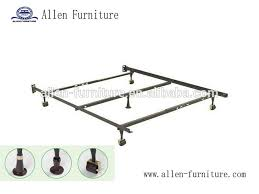 metal bed frame with center support 5 legs 30 30 3cm angle steel
