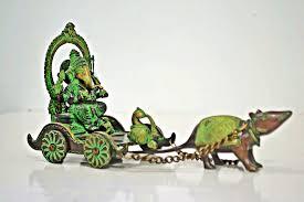 ganesha statues u0026 figurines large brass u0026 wooden ganesh statues