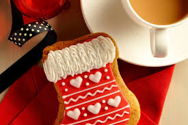 merry christmas ribbon dessert coffee cup cookie cappuccino merry christmas