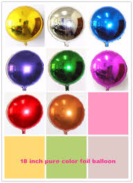 metallic balloons 10 inch shape metallic plain multicolor foil balloons buy