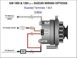 alternator wiring diagram alternator wiring diagrams instruction