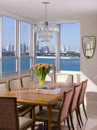 Dining Room Furniture Nyc 20 Dashing Dining Rooms With A Scenic Ocean View