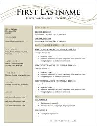 Free Traditional Resume Templates Traditional Resume Examples Music Major Resume Example Music