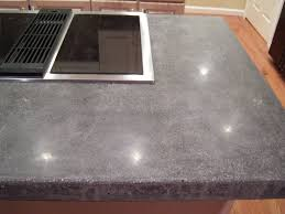 concrete countertops for the kitchen a solid surface on the