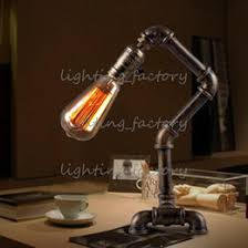 discount industrial edison table lamps 2017 industrial edison