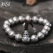 silver bracelet beads charms images Buy jinse traditional 925 silver buddhism thai jpg