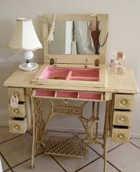 Cheap Sewing Cabinets I Saw This And Fell In Love Vanities White Vanity And Vintage