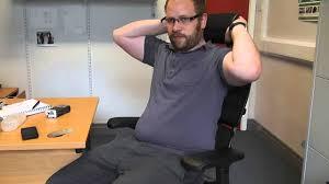 ergohuman ergonomic office chair review youtube