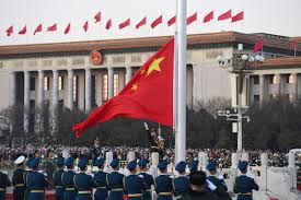 Red Flag Day Pla Takes Over Flag Raising Duty At Tian U0027anmen Square On New