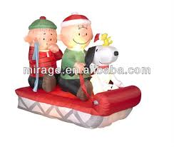 Peanuts Outdoor Christmas Decorations Outdoor Christmas Decoration Horse Carriage Outdoor Christmas