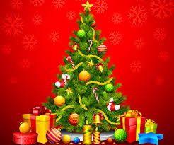 christmas tree and santa claus wallpapers for desktop backgrounds