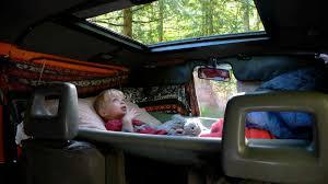 hammock over driver u0027s and passenger u0027s seats camper van
