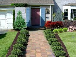 Home Landscaping Ideas by Mesmerizing Small Landscaping Ideas For Front Of House 43 For Your