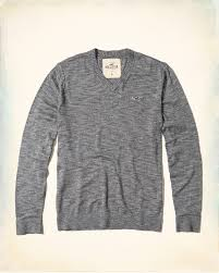 guys v neck icon sweater guys tops hollisterco