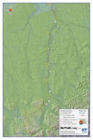 Alaska Pipeline Map by Toolik Field Station General Maps