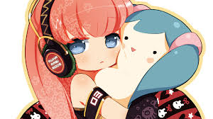 chibi photo collection chibi with headphones wallpaper