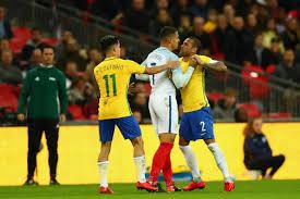 How Many Stars In Brazil Flag England 0 0 Brazil Wembley Football Friendly Result Gareth