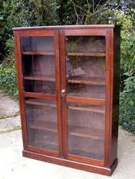 Bookcase With Lock Bush Stanford Glass Door Bookcase Audio Rack From Hayneedle