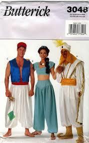 Jasmine Costume Halloween Butterick 3048 Aladdin Jasmine Costumes Retrowithlana