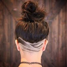nape of neck hair cut for women shaved hairstyles that will make you look like a badass