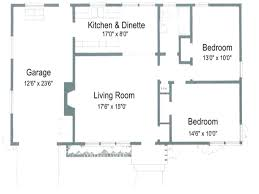 Two Bedroom Cottage House Plans 2 Bedroom Ranch Floor Plans Ideas Including For Small Houses House