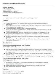 resume objective exles accounting manager salary manager resume objective exles assistant property manager