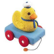 duck cake duck wagon cake wilton