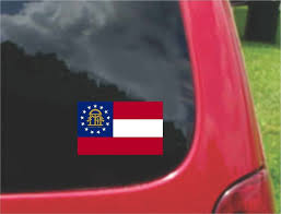 Georgia Flag State Usa States Maps And Flags U2013 Customvinyldecals