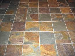 laying slate tile floor meze