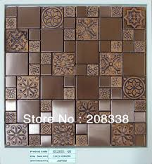 aliexpress com buy metal mosaic tiles bathroom mosaic tiles