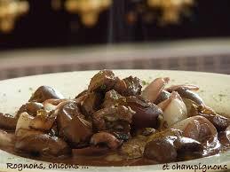 cuisiner rognon de boeuf rognons de boeuf endives et chignons au vin une