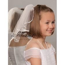 communion veils illusions bridal flower girl and communion veils m 151 1r
