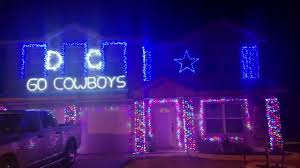 dallas cowboys christmas lights house with dallas cowboys decorations for christmas youtube