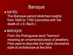 baroque ppt