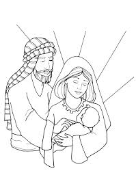 coloring pages holy family holy family coloring 2 jpg 600