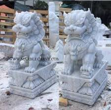 foo dog sculpture marble foodog statue carving factory marble sculpture marble foo