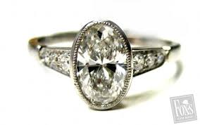 vintage oval engagement rings vintage oval diamond engagement rings lake side corrals
