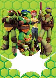 ninja turtles free printable party kit parties