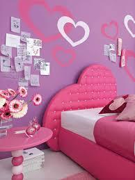 Girls Bedroom Feature Wall Kids Bedroom Pink And Purple Bedroom Interior Design