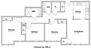 3 bedroom floor plan management floor plans