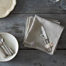 heirloomed linen napkins set of 4 on food52