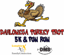 dahlonega s 3rd annual thanksgiving day turkey trot 5k and run