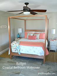 bedroom makeover on a budget coastal bedroom makeover the reveal h20bungalow