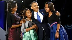 Obama First Family by Then And Now The Obama First Family Itv News