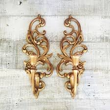 Gold Wall Sconces Fantastic Gold Wall Sconce Candle Holder Shop Gold Candle Wall