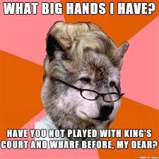 Meme Joke - dimonion meme anti joke grandma wolf by mtaur on deviantart