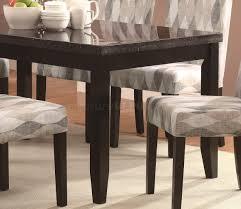 Pattern Chairs 103621 Newbridge 7pc Dining Set Coaster Diamond Pattern Chairs