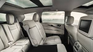 luxury minivan interior 2017 infiniti qx60 pricing for sale edmunds